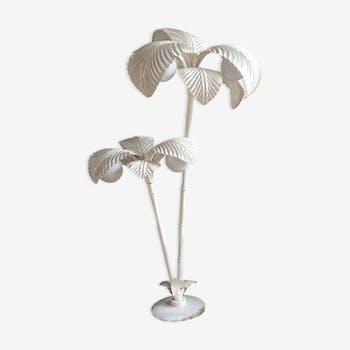 Lampadaire palmier vintage