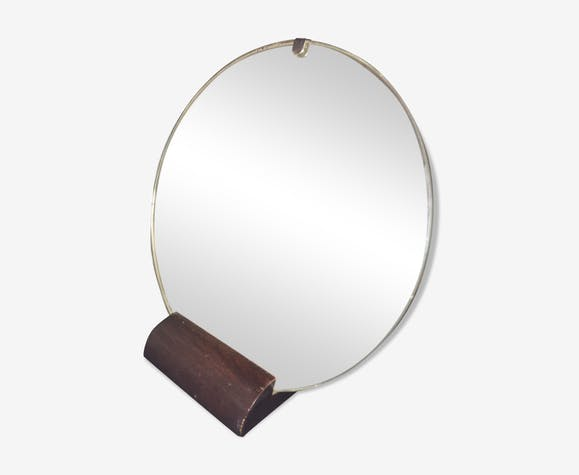 Mirror to ask art deco vintage 39x41cm