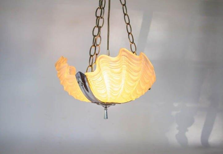 Lampe Odeon art déco