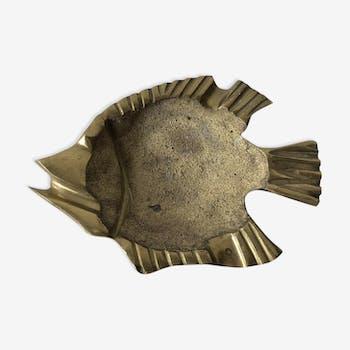 Empty Pocket brass fish