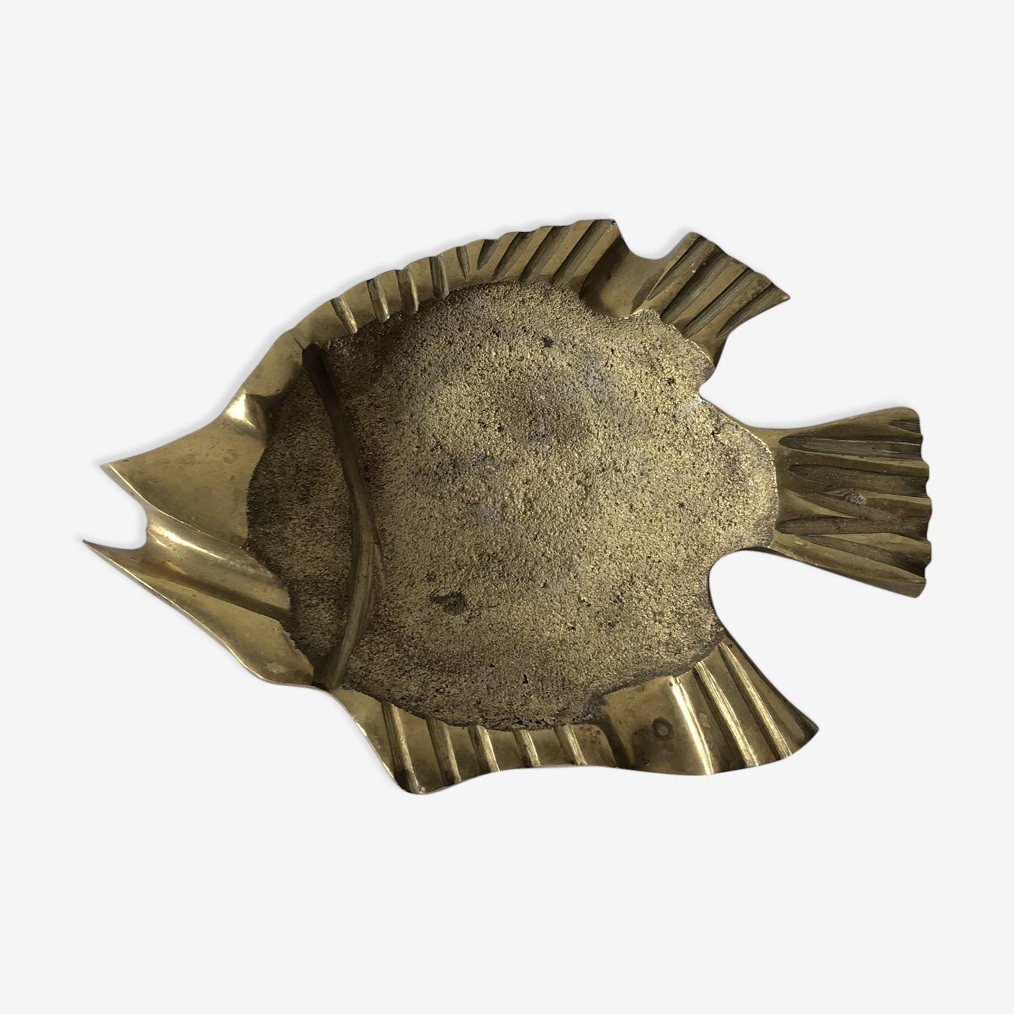 Vide poche en laiton en forme de poisson