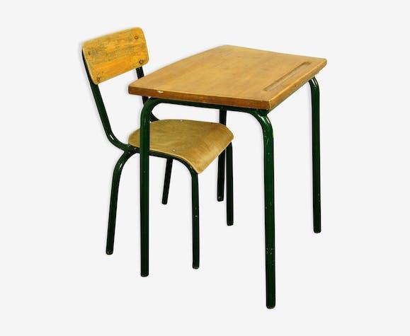 Bureau et chaise Mobilor vintage