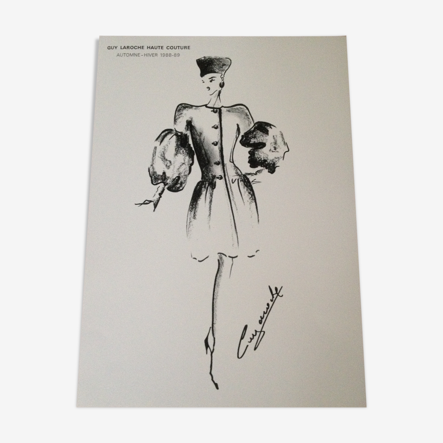 Illustration de mode par Guy Laroche