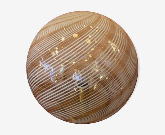 Venini 60's Murano glass table lamp