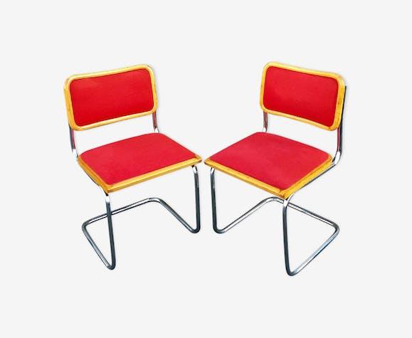 Chaises Cesca par Marcel Breuer 1970