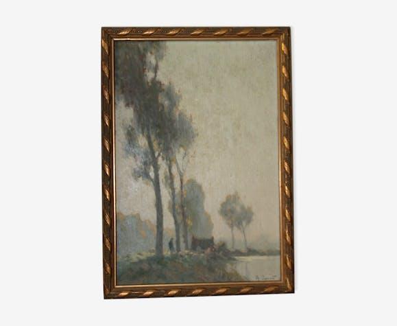 Tableaux Alexandre-Louis Jacob (1876-1972)