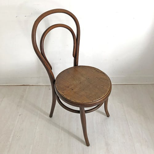 Chaise bistrot vintage 1950