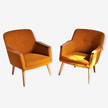 1/2 fauteuils club original années 50 60