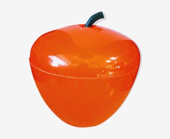 Pomme à glaçons vintage orange