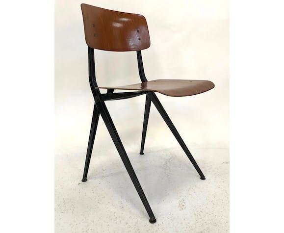 Chaise Spin Chair 102 Ynske Kooistra pour Marko Holland Pays-Bas des années 60