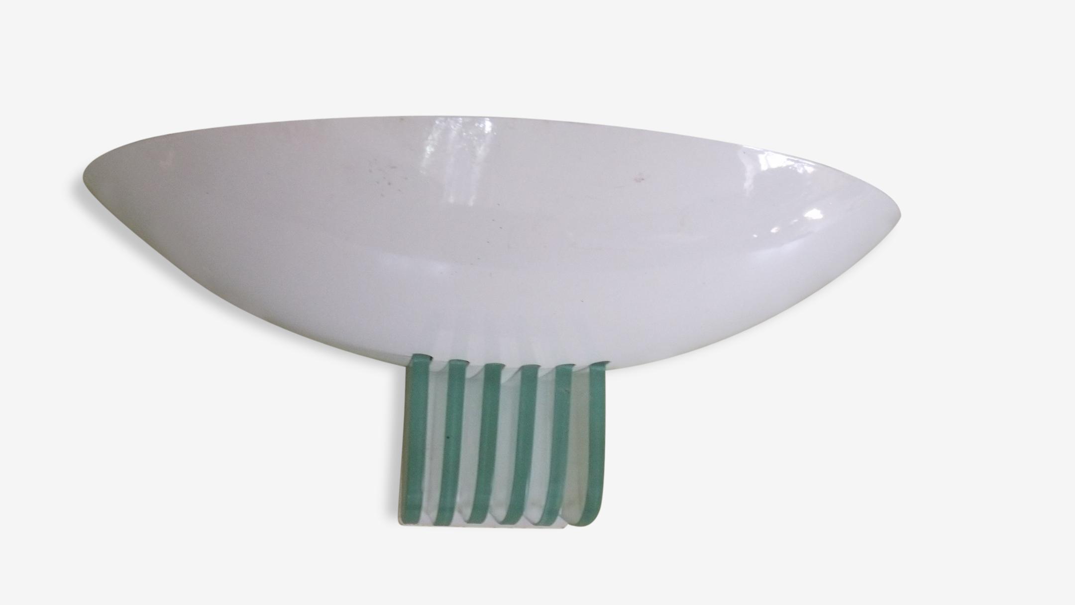 Applique métal et verre type Perzel
