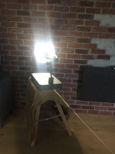 Lampe loupe toulemonde