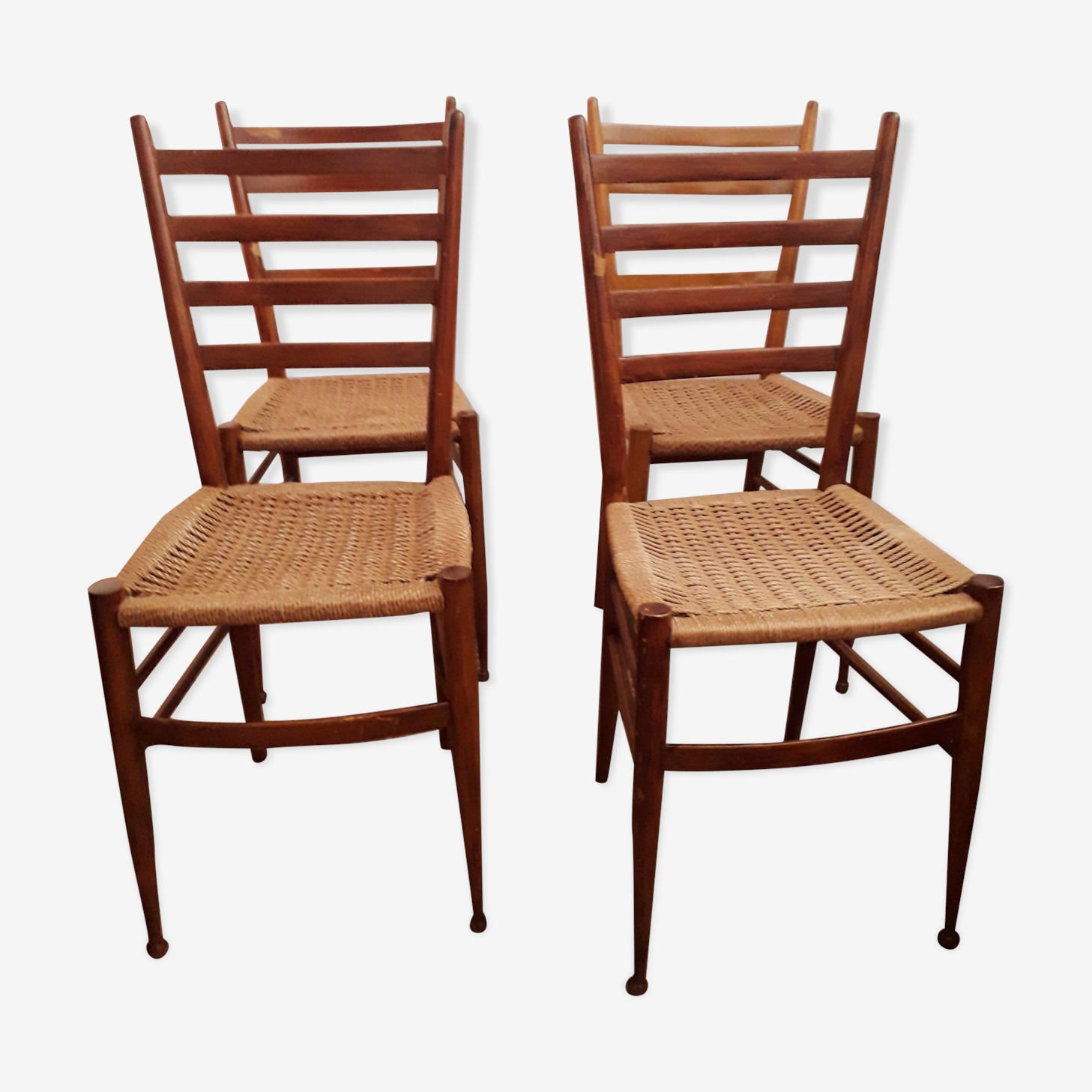 Chaises design italien années 50-60