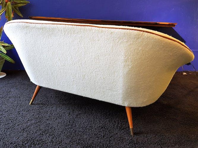 Danish alpaca living room set  50s