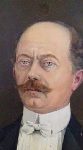 Portrait homme à la Légion d'honneur XIXème siècle