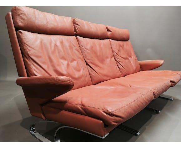 """Sofa high-end design """"Reinhold Adolf"""" by """"Cor"""" 1960."""