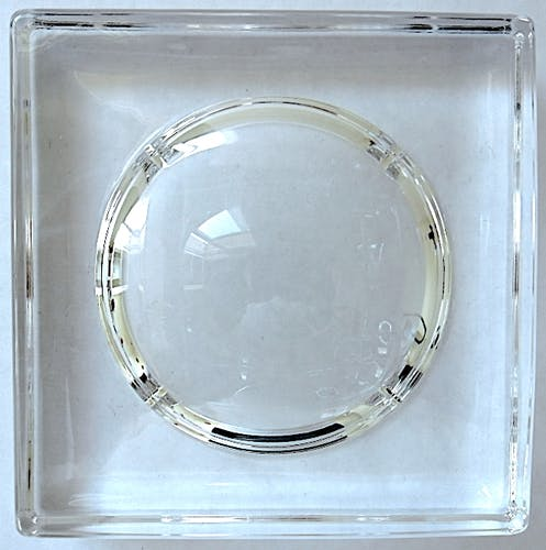 Square crystal pocket void by Villeroy & Boch