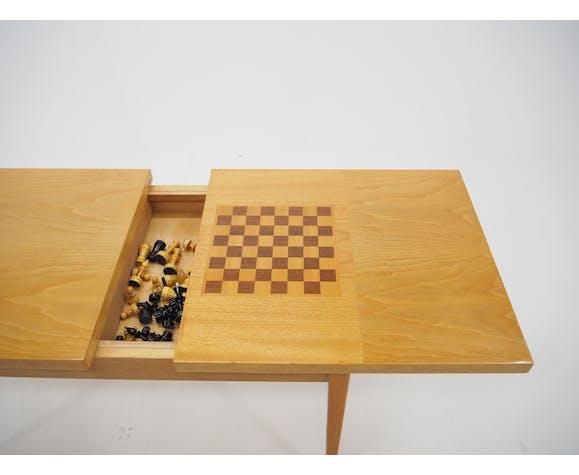 Table d'échecs du milieu du siècle made in Tchécoslovaquie, années 1970