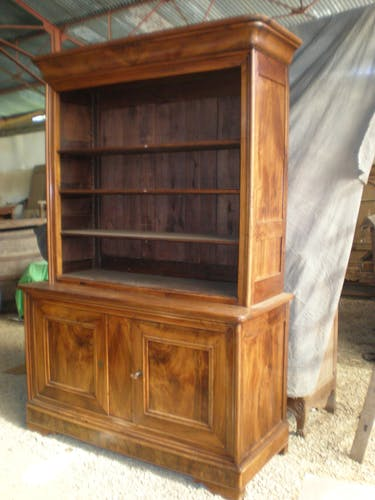 Louis Philippe bookcase 19th