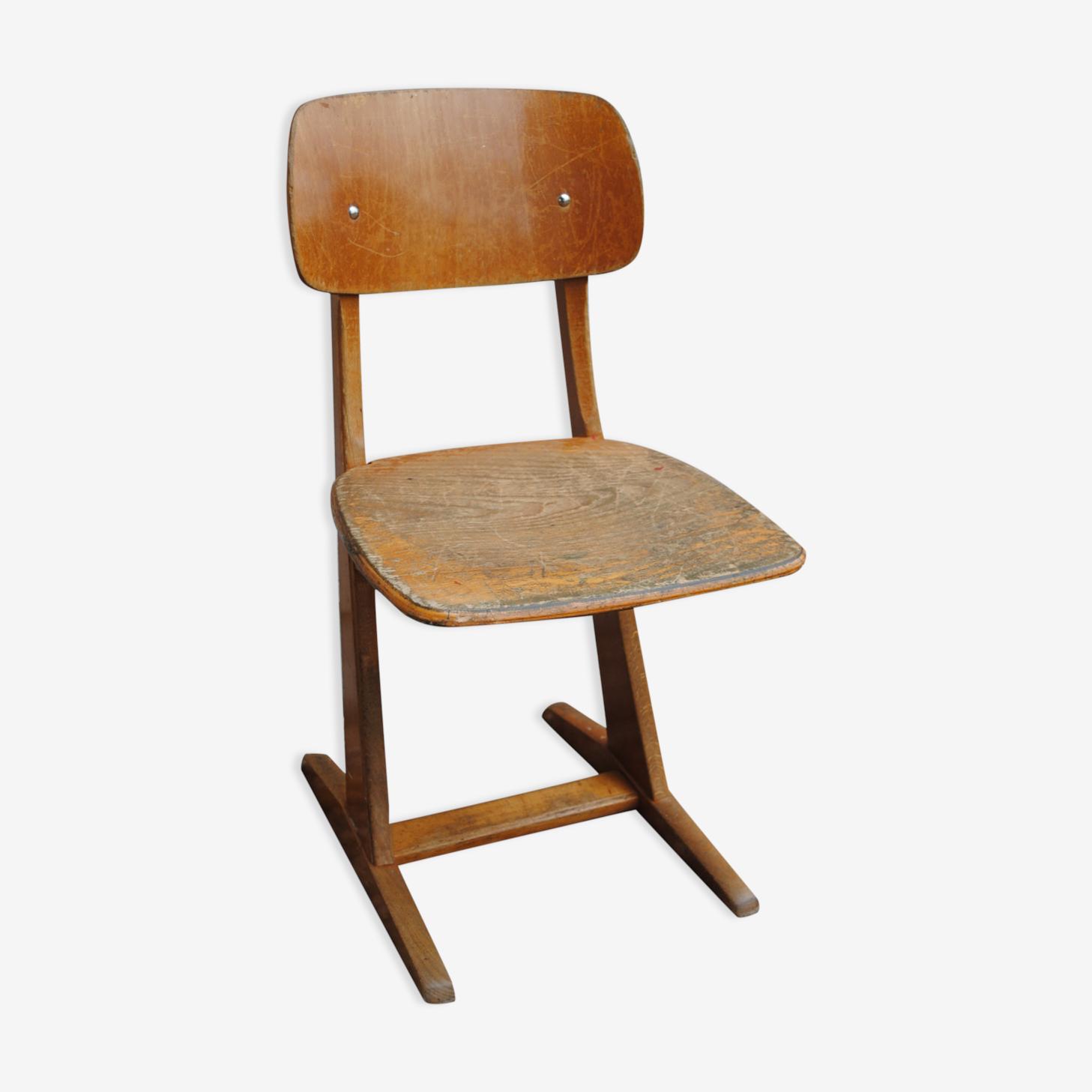 Chaise d'école casala 1950