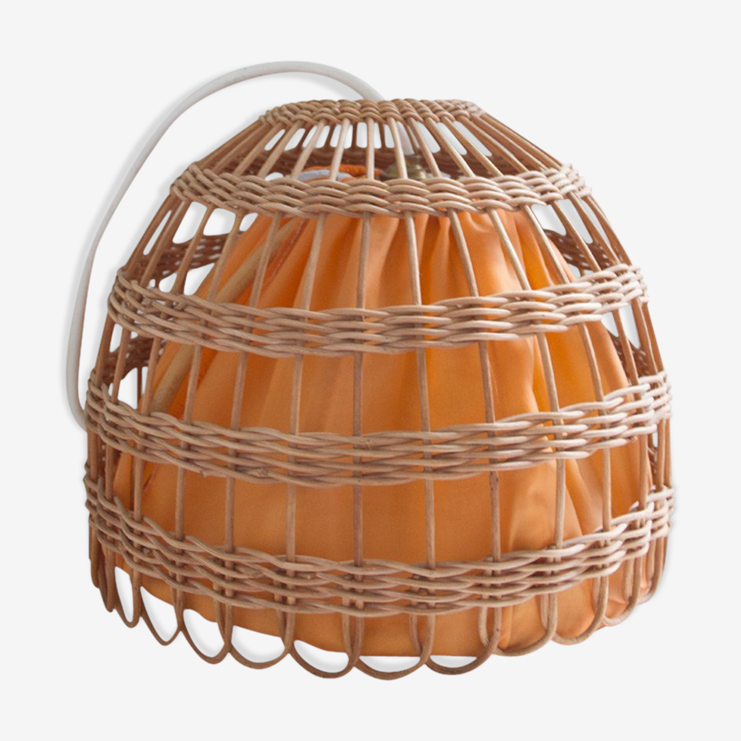 Suspension rattan