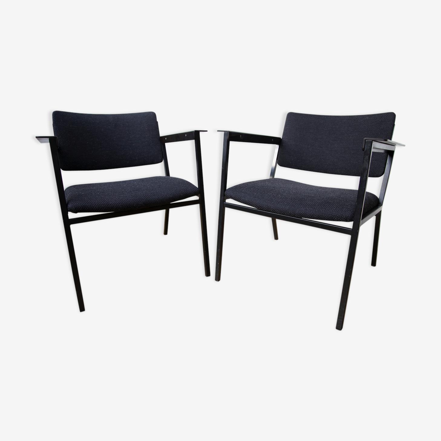 Paire de fauteuils 1960 (édition pagholz)