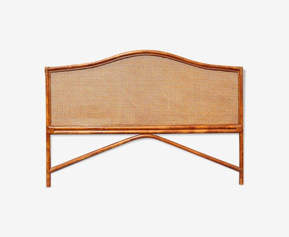 Tête de lit en bambou et cannage - rotin et osier - bois (Couleur ...