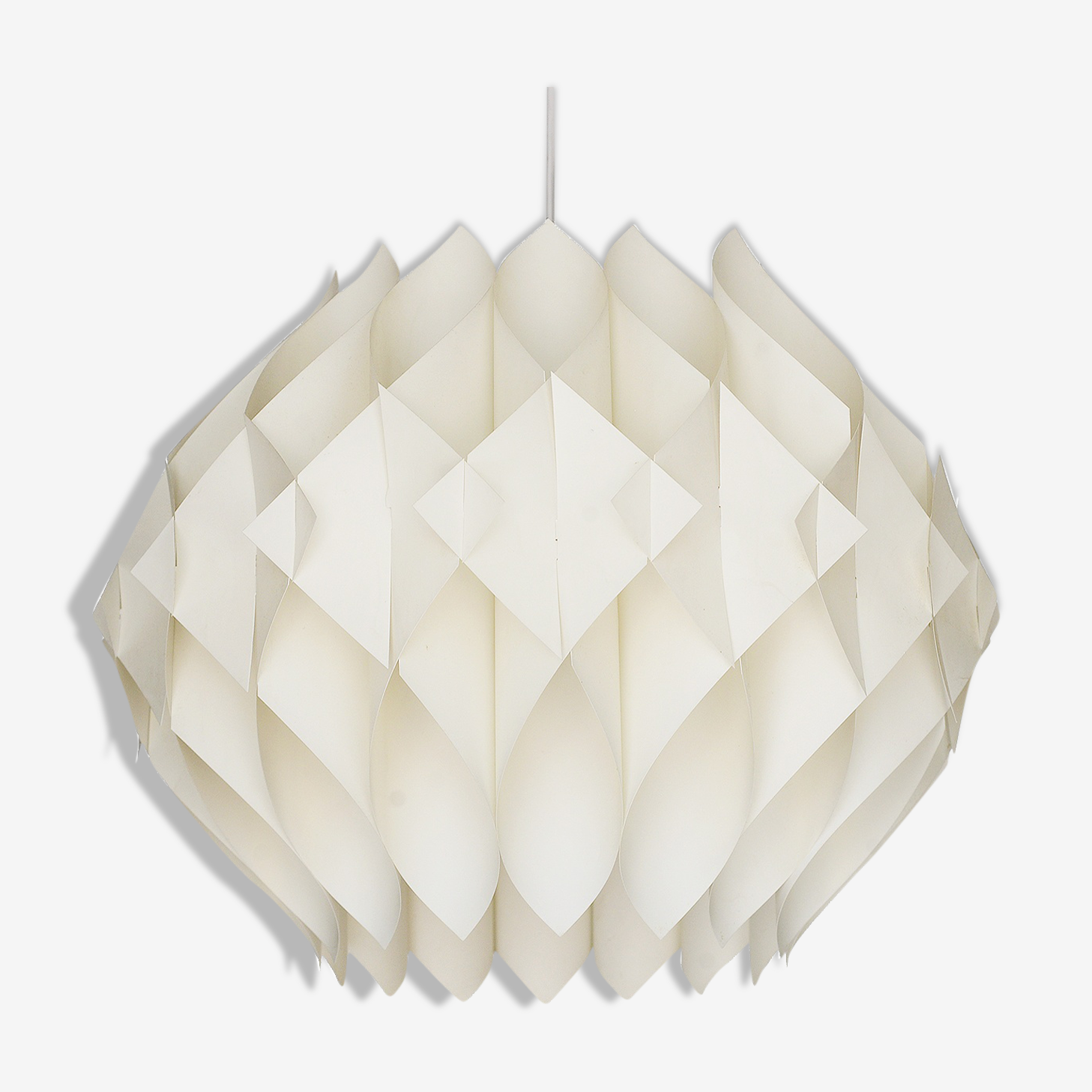 "Acrylic hanging light ""Butterfly"" by Lars Shiøler for Hoyrup lighting"