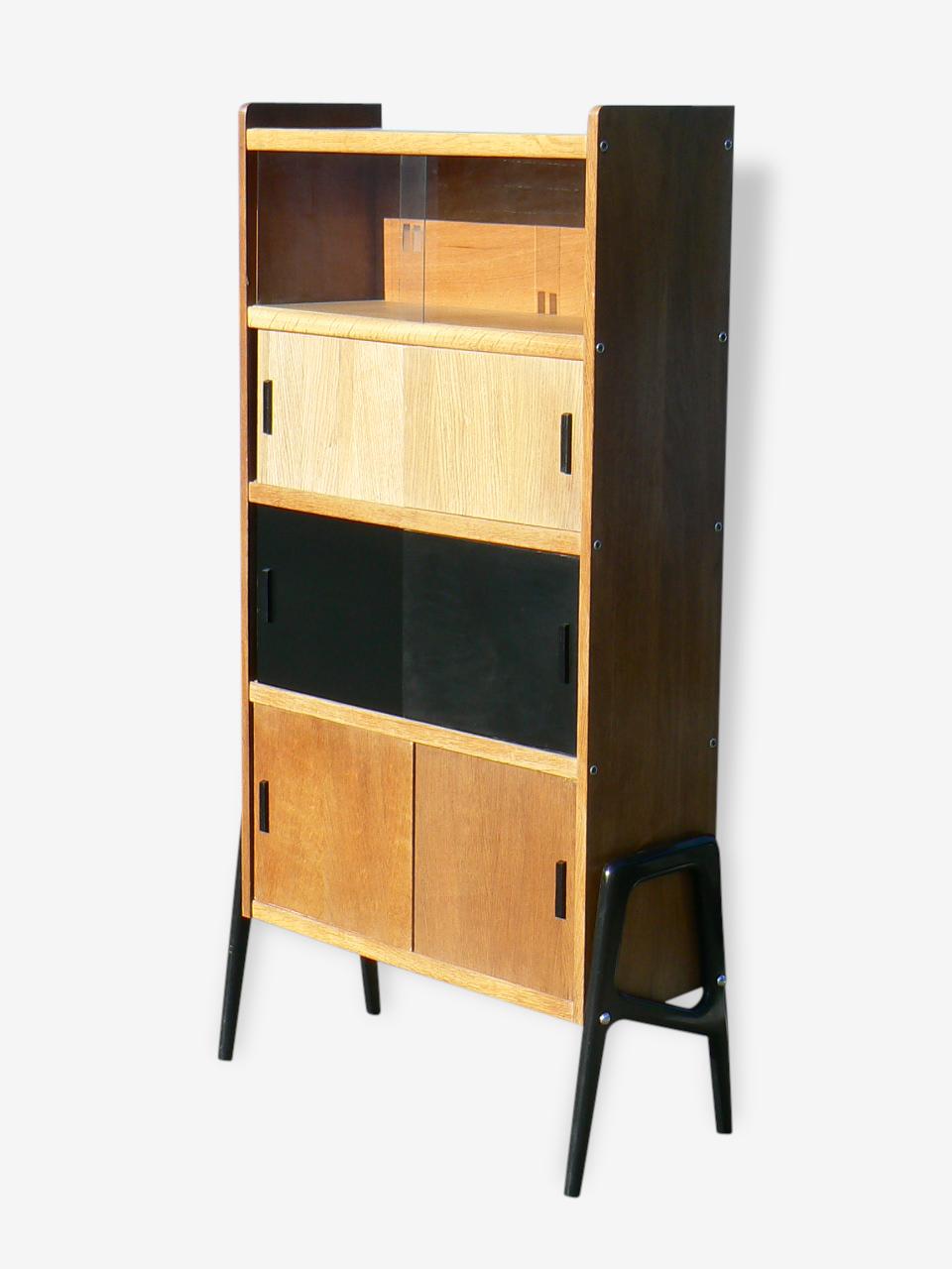 Superbe meuble de rangement des années 1950