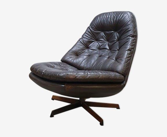 Ensemble de fauteuils pivotants danois Madsen - Schàbell voor Bovenkamp