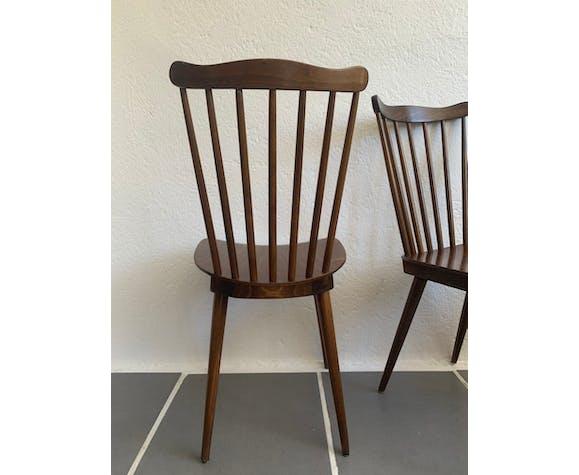 Set de 6 chaises bistro vintage