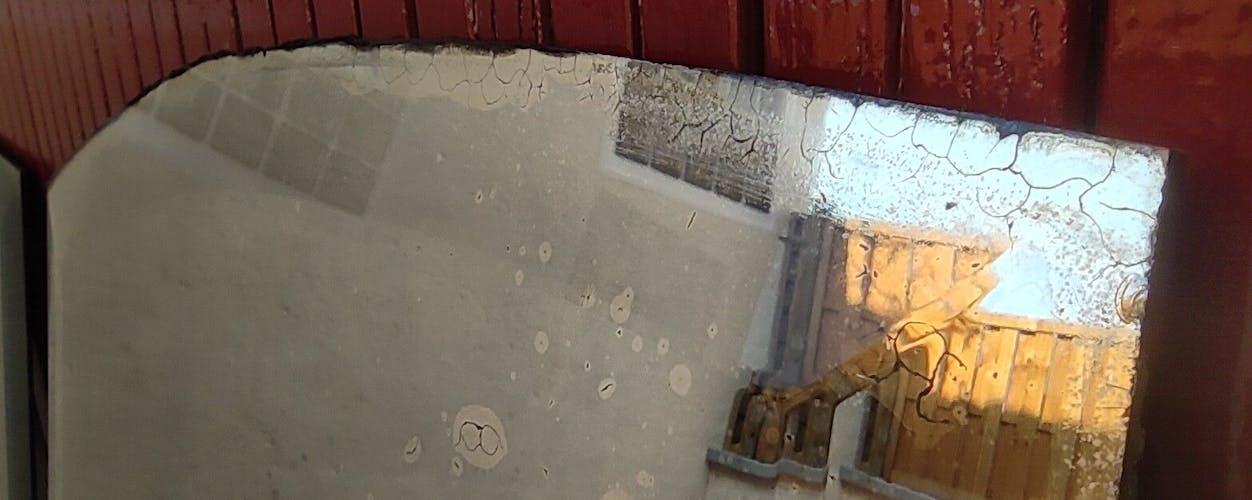 Miroir ancien biseauté 1m50
