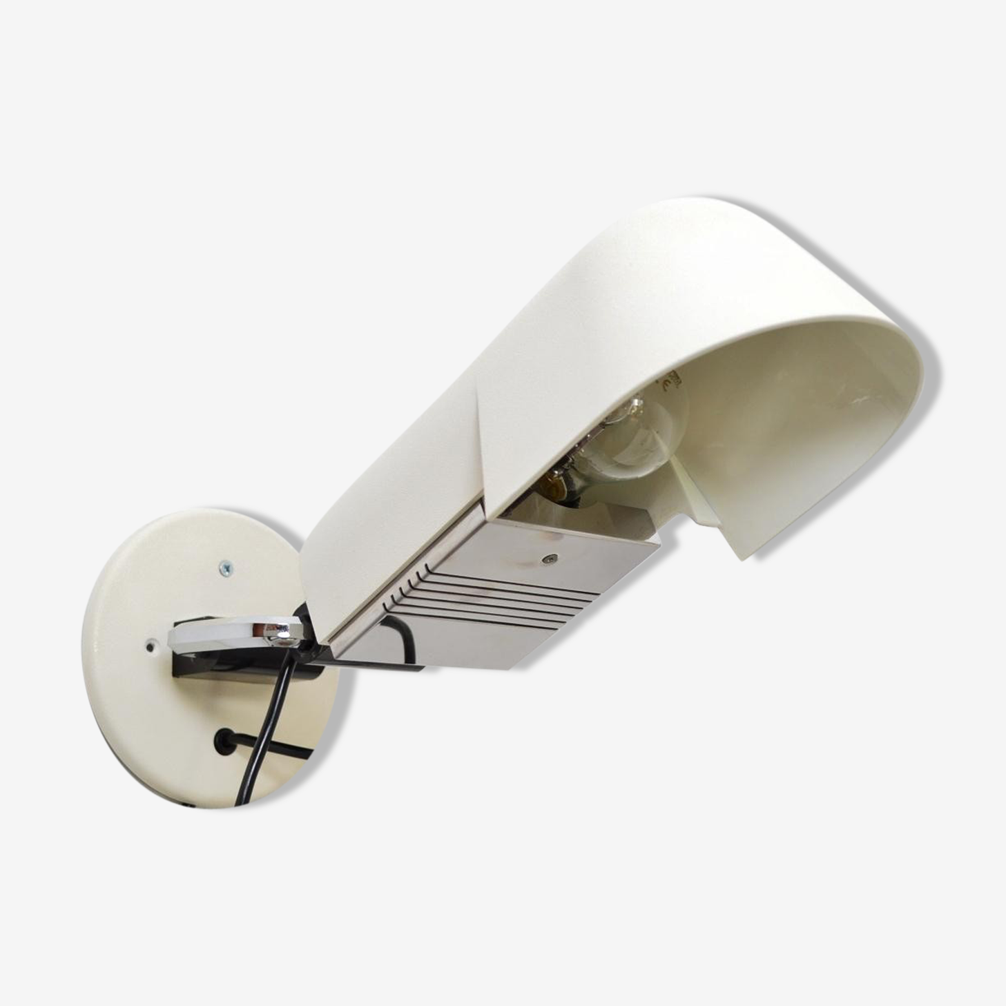 Wall lamp model ACAP space age by D. & C. Aroldi for Luci 1970 s