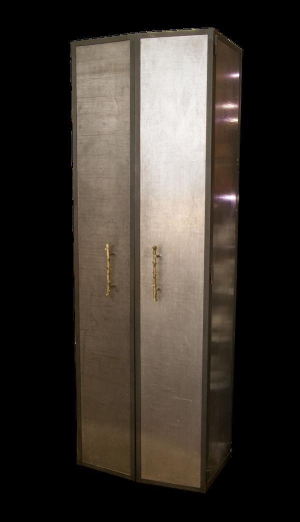 Armoire deux portes métal