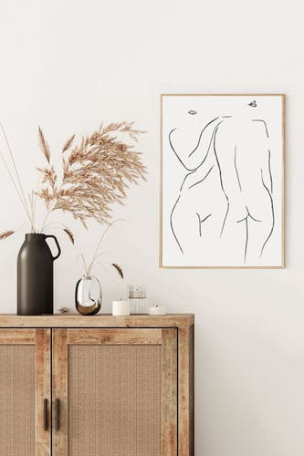 Illustration Ensemble - 30x42cm