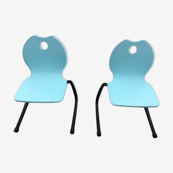Pair of child chairs