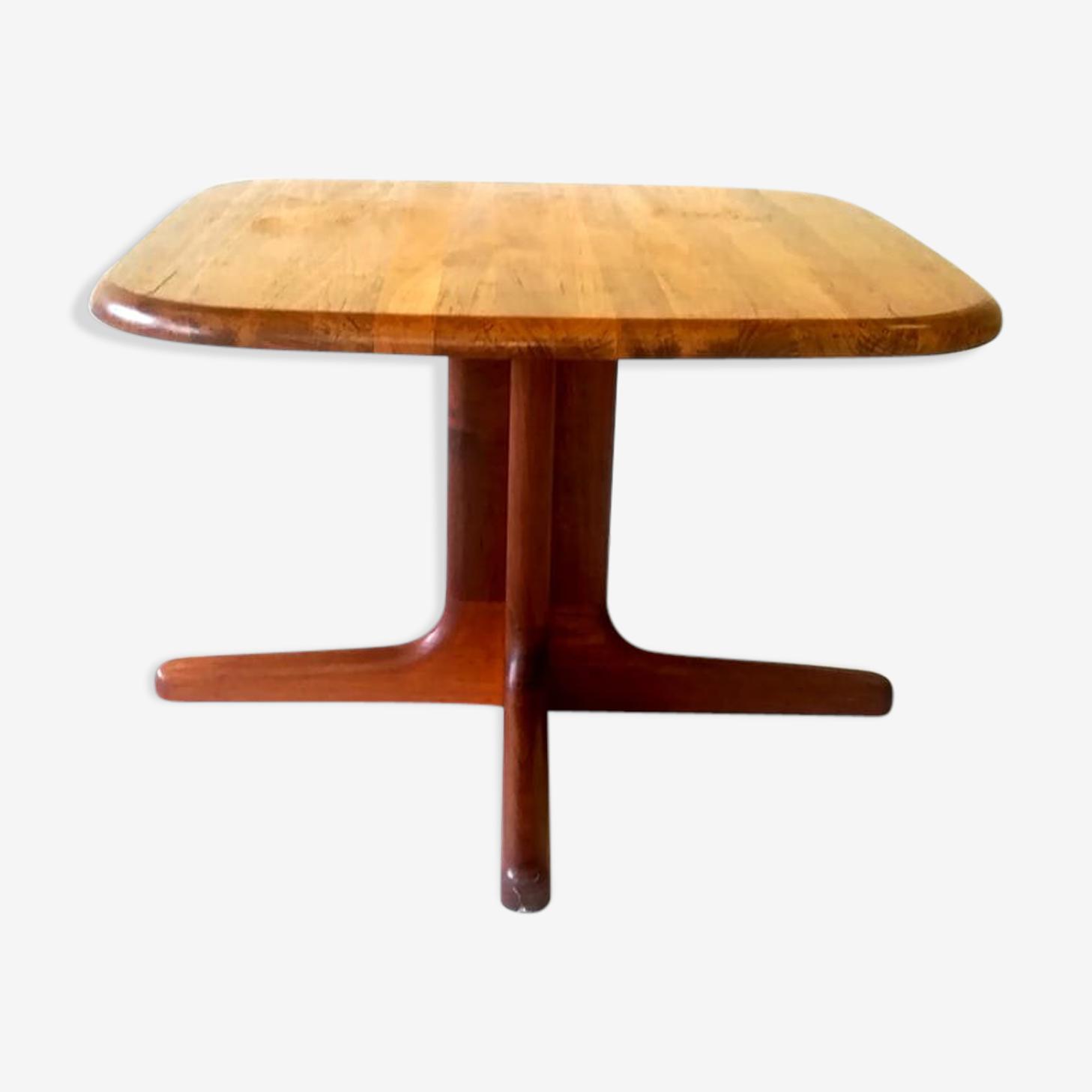 Table basse en teck, design danois, années 1970