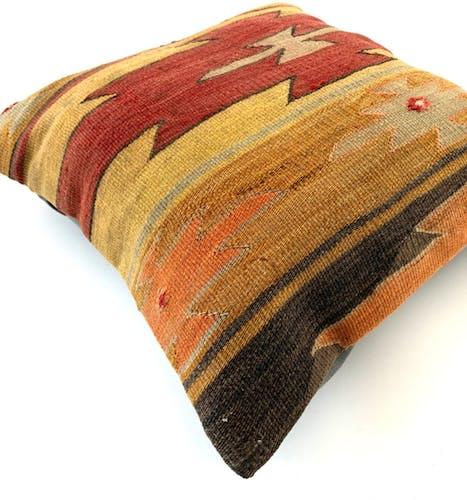 Vintage kilim cushion cover 45x45cm