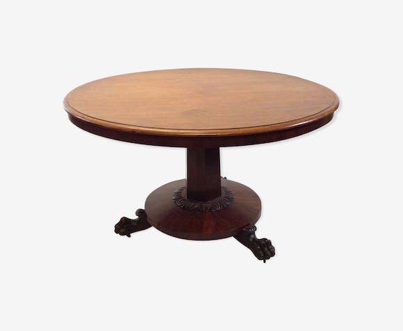 Table style empire fin XIXème.