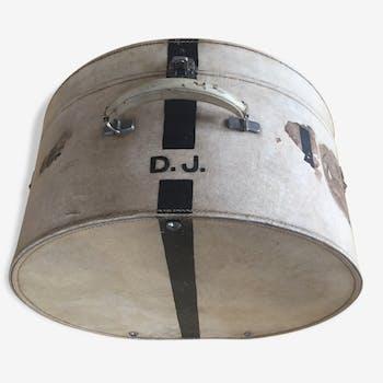 English leather Hat box