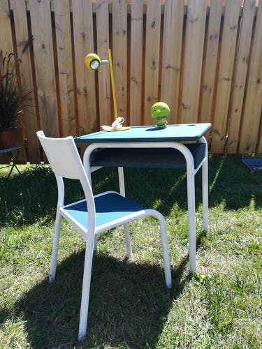 Bureau enfant et sa chaise