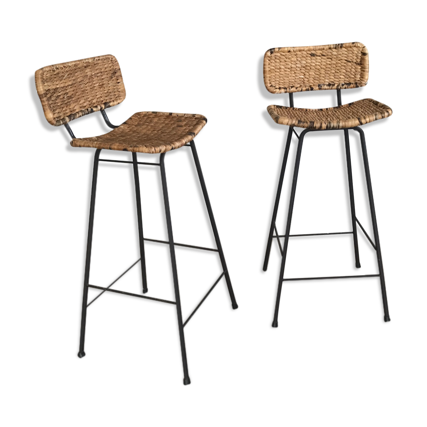 tabouret de bar en osier beautiful salon de jardin en rotin pas cher tabouret bar rotin with. Black Bedroom Furniture Sets. Home Design Ideas