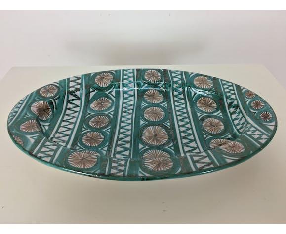 Plat Robert Picault, céramique de Vallauris