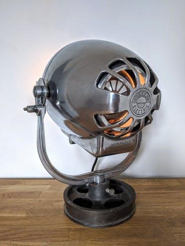 Projecteur de théâtre anglais vintage