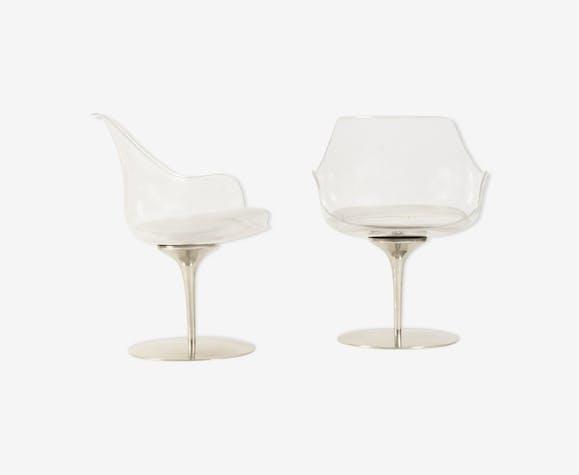 Lot de 2 chaises Champagne Estelle Laverne