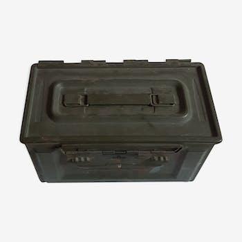 Boite caisse metal à munitions 1964