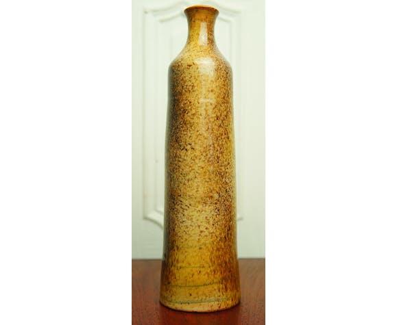 Vase soliflore en céramique vernissée