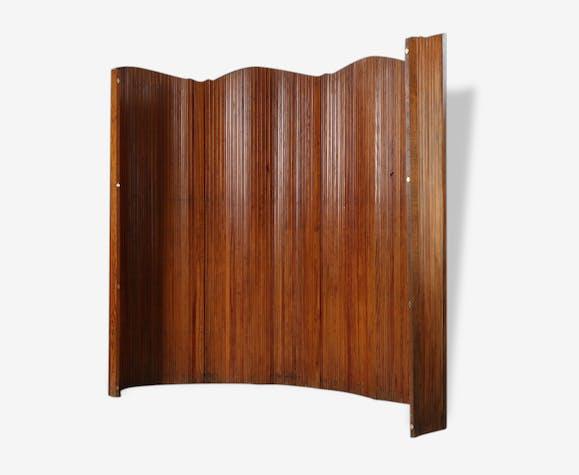 paravent en bois enroulable de la maison baumann bois. Black Bedroom Furniture Sets. Home Design Ideas