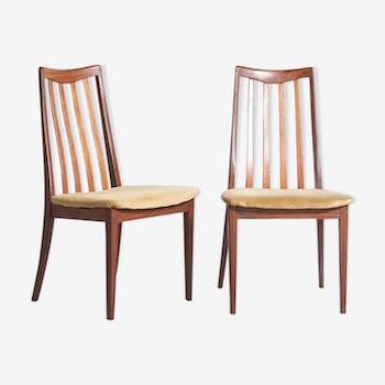 2 chaises G Plan 1960