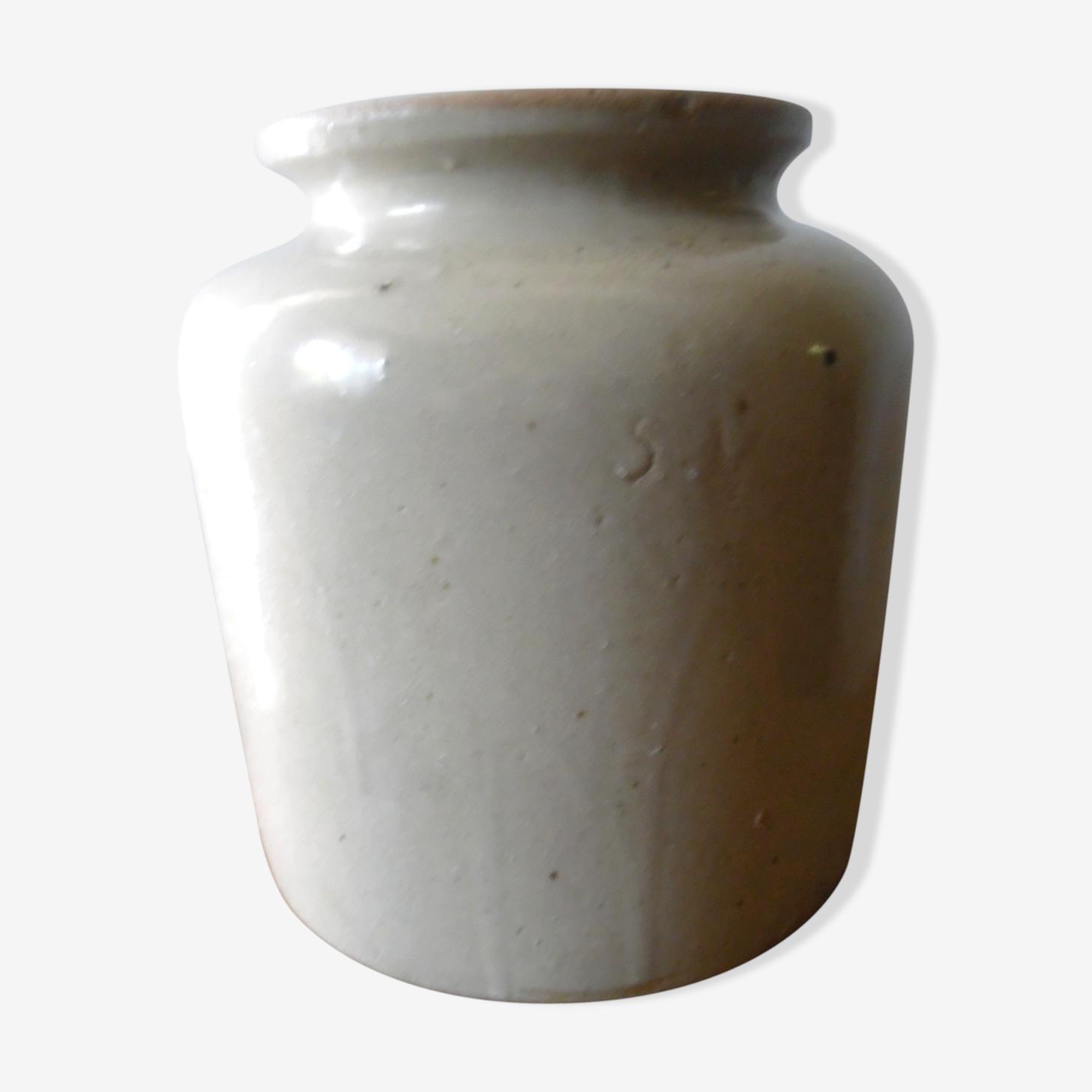 Cream glazed stoneware
